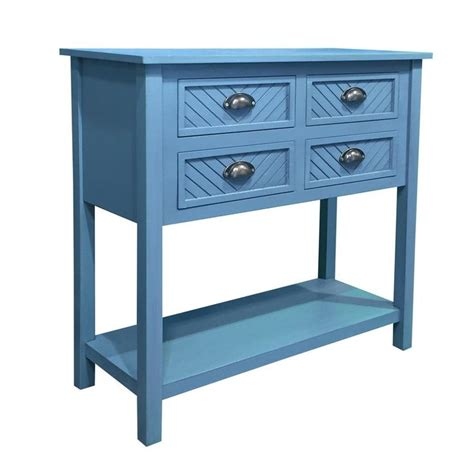 Pfeffer Wood 4 Drawer Accent Cabinet