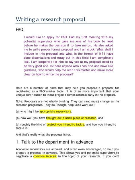Geology phd research proposal