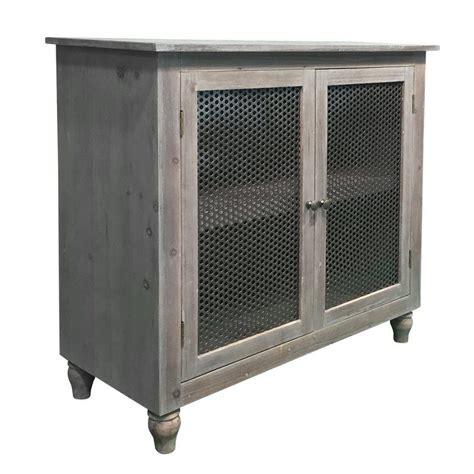 Pheonix Pine Wood 2 Door Accent Cabinet