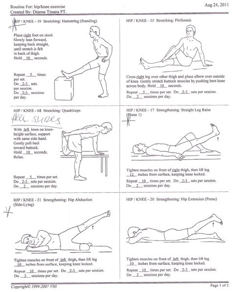 physical therapy exercises for legs and hips for disabled people