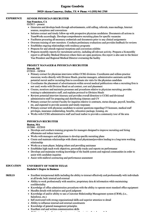 physician recruiter resume examples recruiter resume samples jobhero physician recruiter resume - Physician Recruiter Resume