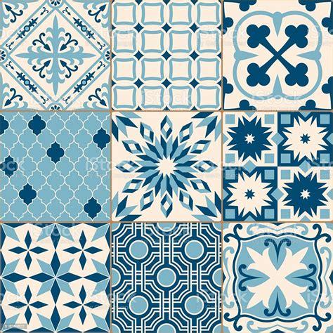 Piastrelle Blu Mosaico
