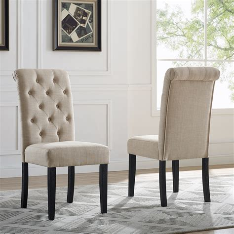 Pickell Solid Wood Dining Chair (Set of 2)