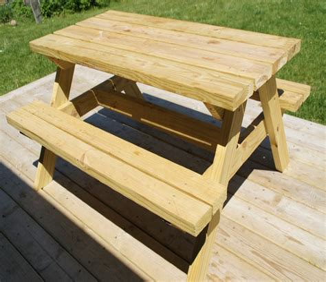 Picnic Bench Plans Free