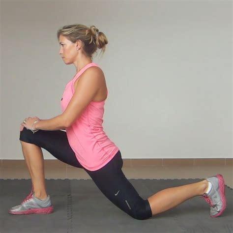 pics jpeg kneeling hip flexor stretch exercises before running