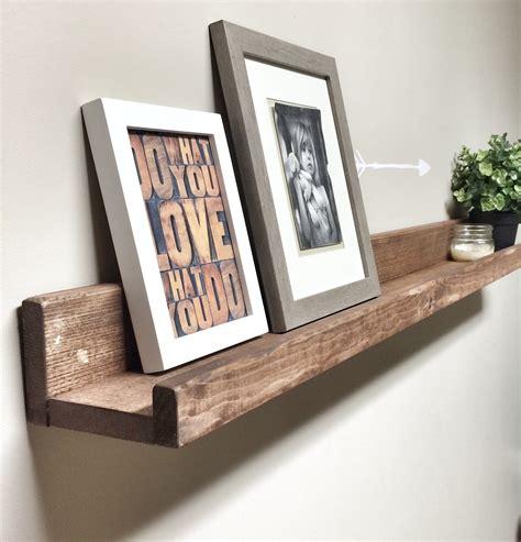 Picture Ledge Wall Shelf
