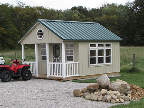 Pictures Of Sheds With Porches