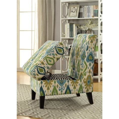 Pieper Living Room Slipper Chair with Hidden Storage