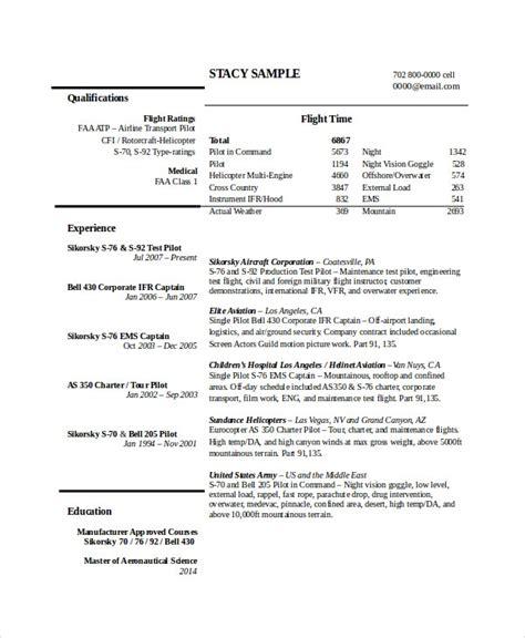 resume format pdf file pilot resume template 5 free word pdf document