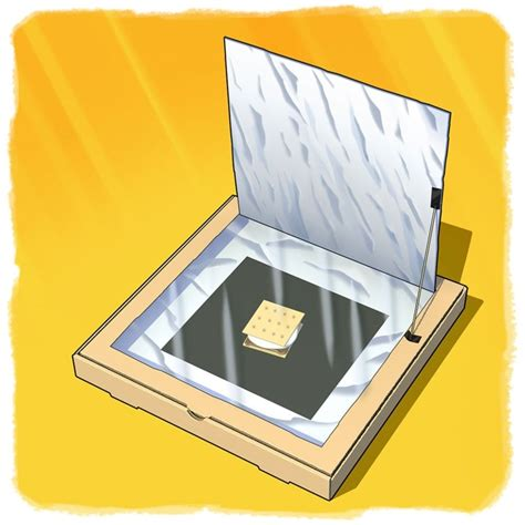 pizza box solar oven design