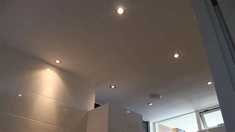 Plafondspotjes Badkamer
