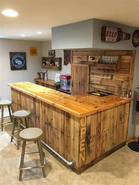 plans for a home bar