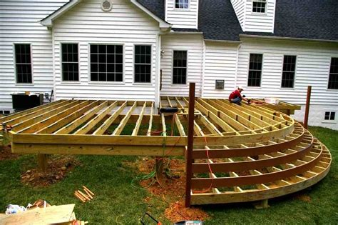 plans for wood deck