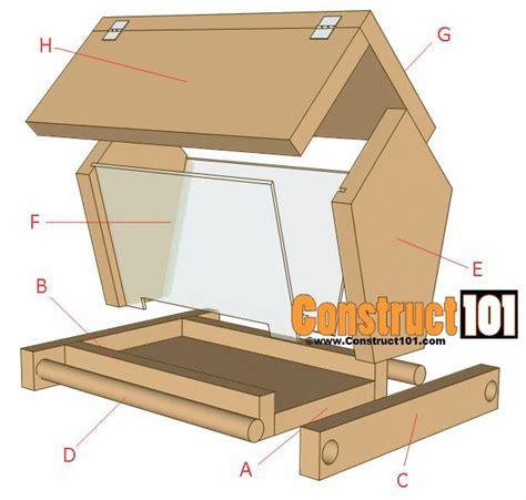 Plans For A Bird Feeder