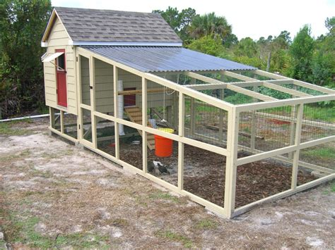 Plans For A Chicken Coop And Run