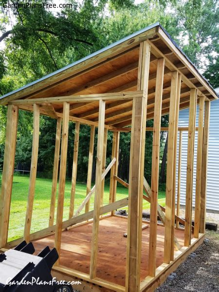 Plans For A Lean To Shed