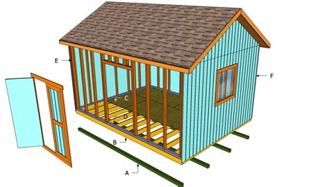 Plans For A Shed 12x16 Free