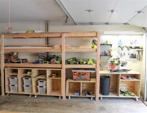 Plans For Garage Shelving