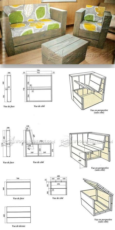 Plans For Pallet Furniture