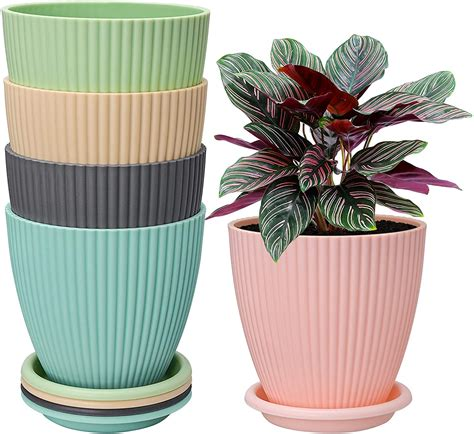 plastic pots for plants