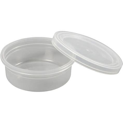Plastic Bakjes Met Deksel Wegwerp