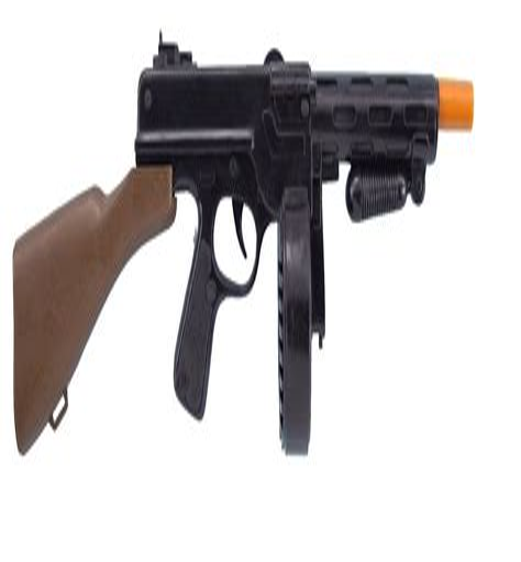 Tommy-Gun Plastic Tommy Gun.