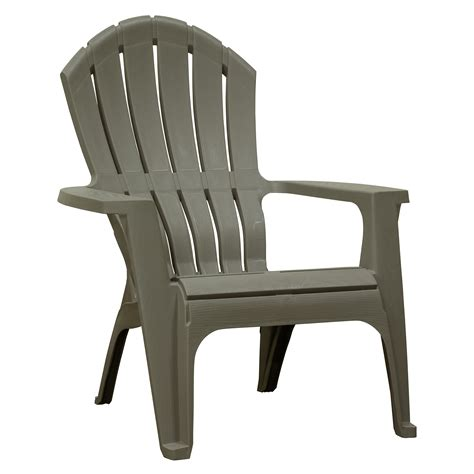Plastic Adirondack Chairs Gray