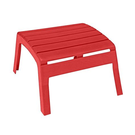 Plastic Adirondack Chairs With Ottoman