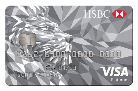 Credit Card Approval Process India Platinum Credit Card Hsbc India