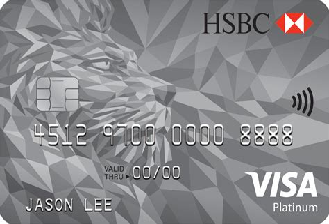 Platinum Credit Card Icici Limit Hsbc Visa Platinum Credit Card Hsbccoin