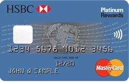 Credit Card Best Buy Hsbc Platinum Rewards Credit Card Hsbc Usa