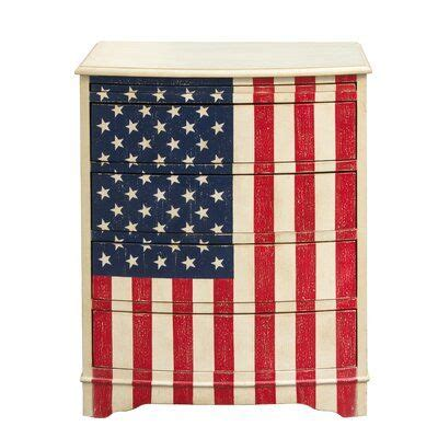 Pledge of Allegiance 4 Drawer Chest