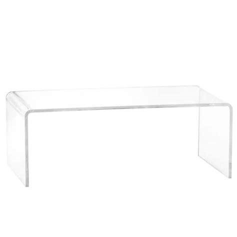 Plyler Acrylic Coffee Table