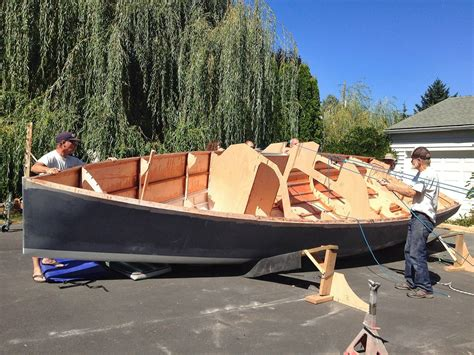 Plywood Dinghy Plans