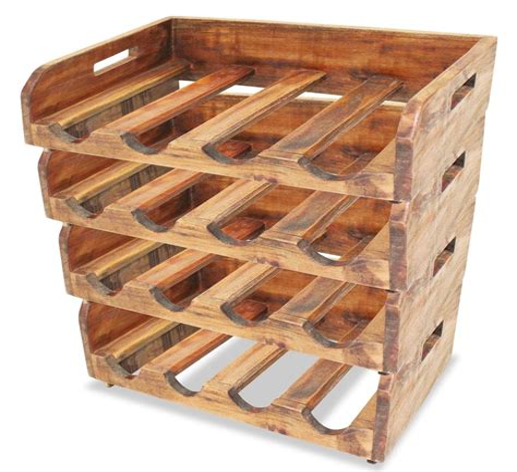 Plywood Wine Rack