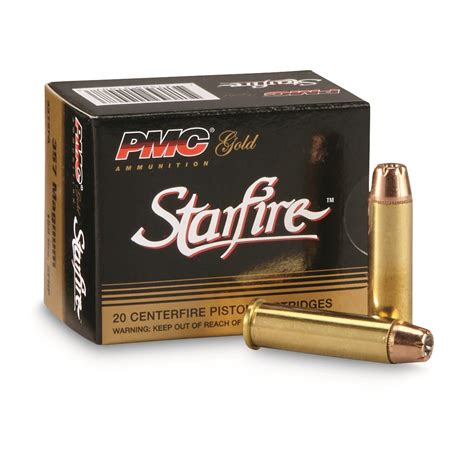 Ammunition Pmc Starfire 357 Magnum 150 Gr Sfhp Ammunition 20rds.