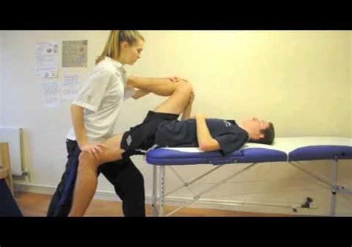 pnf partner hip flexor stretches exercise