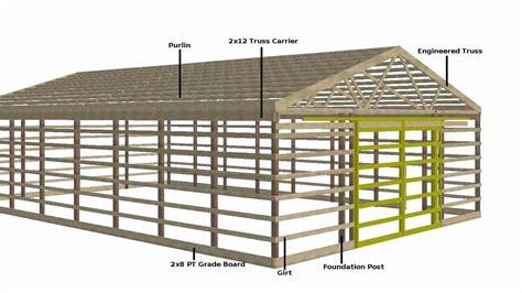 Pole Barn Plans Youtube