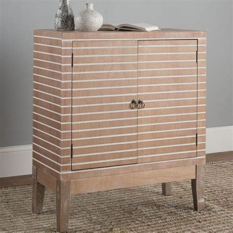 Polen 2 Door Wood Accent Cabinet