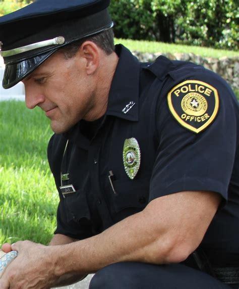 Brass Police Collar Brass Placement.
