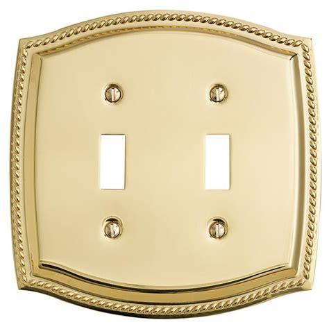 Brass Polished Brass Switch Plates.