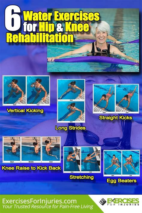 pool exercises for hip strengthening yoga poses