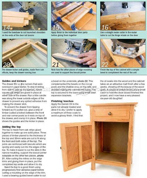 Popular Woodworking Bedside Cabinet Plans