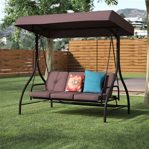 porch swing stand canopy