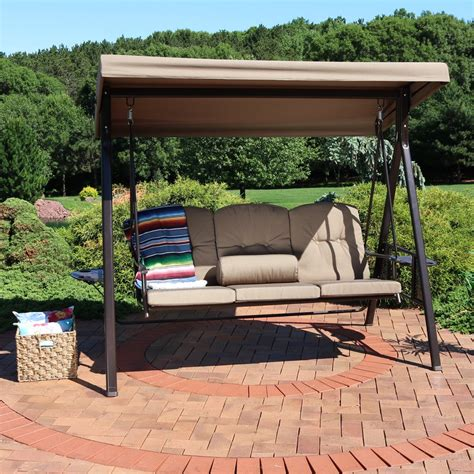 porch swings with canopy on sale
