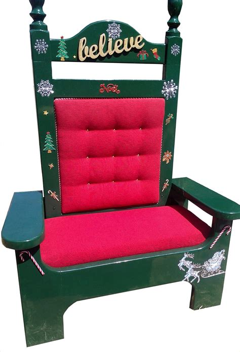 Portable Santa Chair Plans