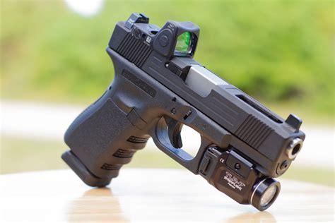 Glock-19 Ported Glock 19.