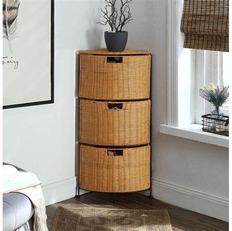 Porter Storage Shelf with 3 Drawers