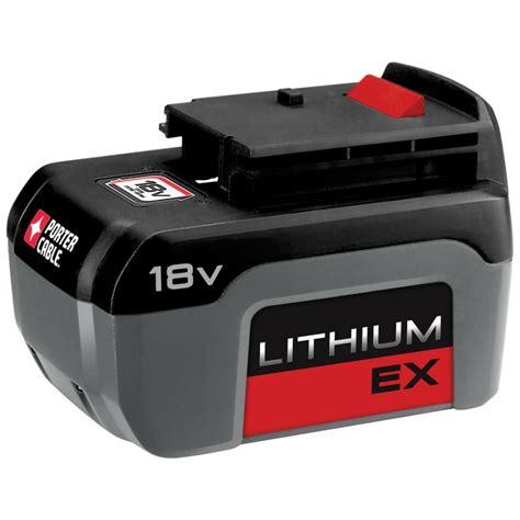 Porter Cable 18 Volt Lithium Battery