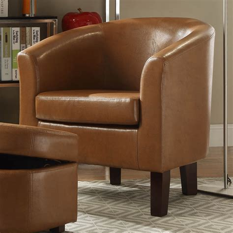 Portersville Barrel Chair and Ottoman